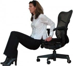 sandalyede mem büyütme hareketleri